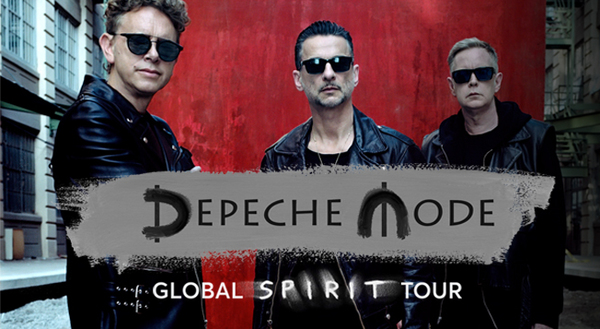 Clickable image to visit Four Premium Seats to Depeche Mode at Barclays Center