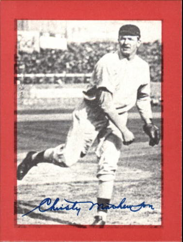 Photo of 1977 Shakey's Pizza #6 Christy Mathewson