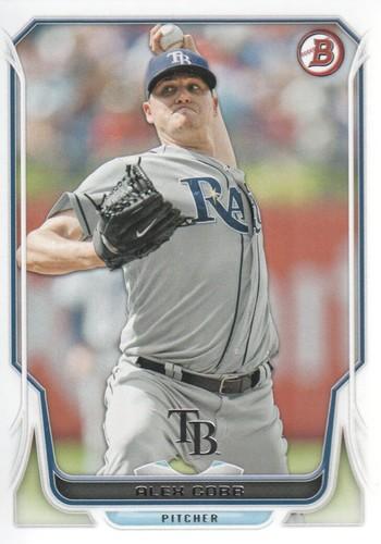 Photo of 2014 Bowman #108 Alex Cobb