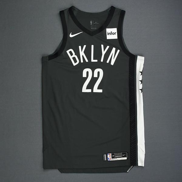 Caris LeVert - Brooklyn Nets - Game-Worn Statement Edition Jersey ...