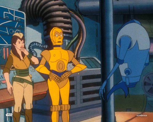 C-3PO and Kea Moll