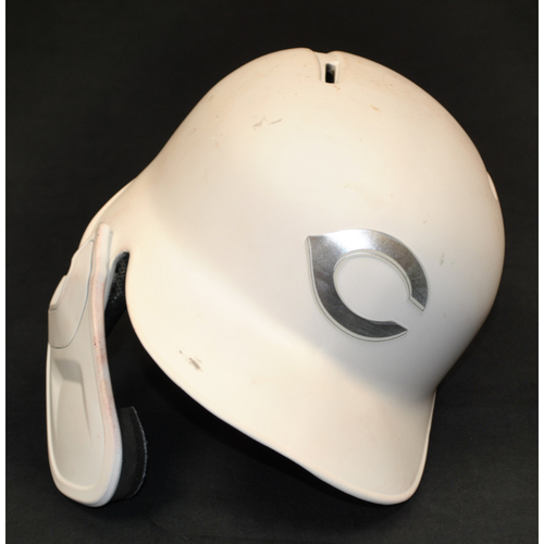 Freddy Galvis Cincinnati Reds Game-Used 2019 Players' Weekend Helmet