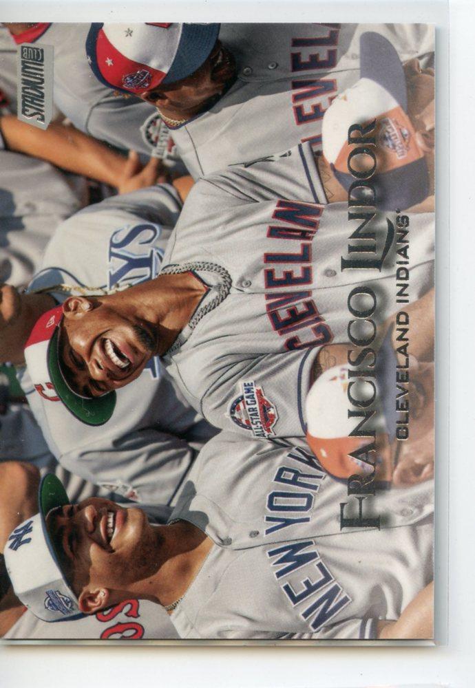 2019 Stadium Club Photo Variations #35 Francisco Lindor variation/All-Star Team photo