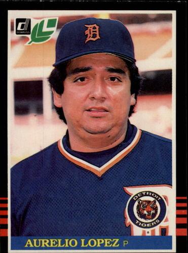 Photo of 1985 Leaf/Donruss #160 Aurelio Lopez