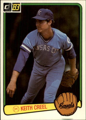 Photo of 1983 Donruss #574 Keith Creel