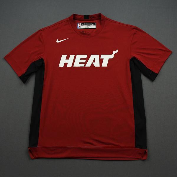 Image of Kendrick Nunn - 2020 NBA Rising Stars - Team USA - Warm-up and Game-Worn Shooting Shirt