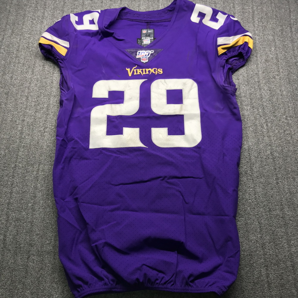 NFL Auction   STS - Vikings Xavier Rhodes Game Used Jersey (11/17 ...