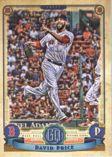 Photo of 2019 Topps Gypsy Queen #263 David Price