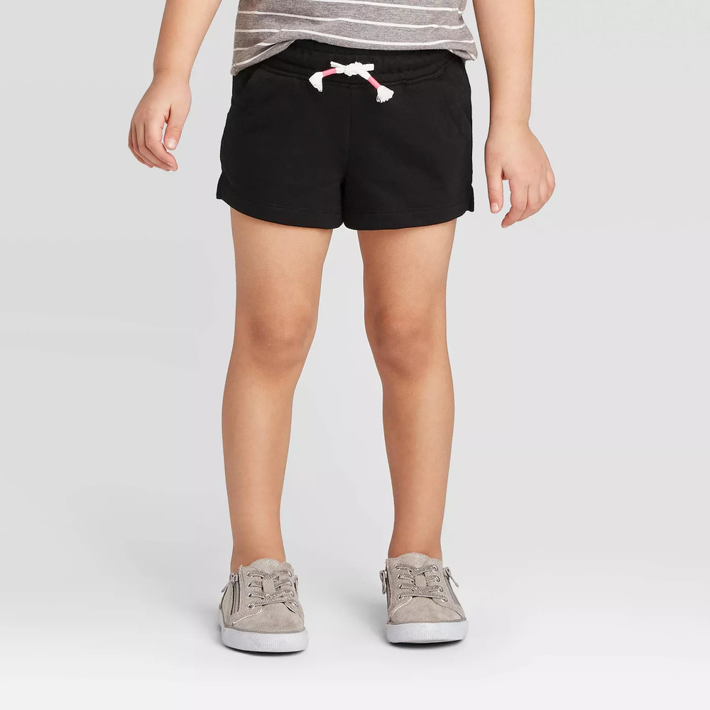 Photo of Toddler Girls' Adaptive Knit Shorts - Cat & Jack