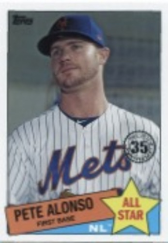 Photo of 2020 Topps '85 Topps All Stars #85AS44 Pete Alonso
