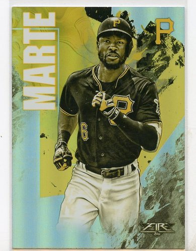 Photo of 2019 Topps Fire Gold Mint #163 Starling Marte