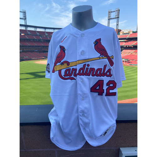 Cardinals Authentics: Team Issued Austin Gomber Jackie Robinson Day Jersey