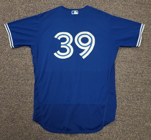 Photo of Authenticated Team Issued 2020 Spring Training Jersey: #39 Dave Hudgens. Size 48