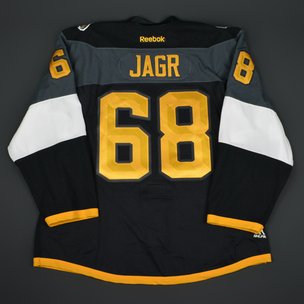 Jaromir Jagr - 2016 NHL All-Star Game - Atlantic Division All-Stars -  Game-Worn Jersey w C - Worn in 2nd Half of Game  1 a394560675a