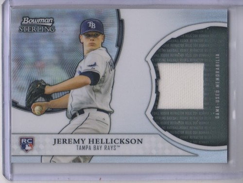 Photo of 2011 Bowman Sterling Rookie Relics #JH Jeremy Hellickson
