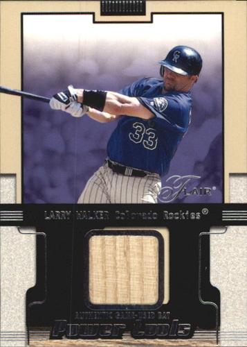 Photo of 2002 Flair Power Tools Bats #27 Larry Walker