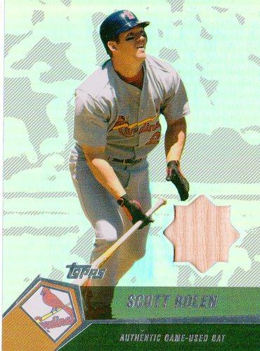 Photo of 2004 Topps Clubhouse Relics #SR Scott Rolen Bat B