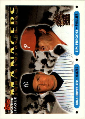 Photo of 1993 Topps Inaugural Marlins #510 Buck Showalter MG/Jim Fregosi MG