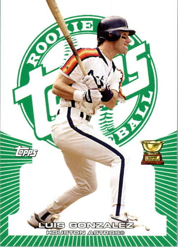 Photo of 2005 Topps Rookie Cup Green #78 Luis Gonzalez