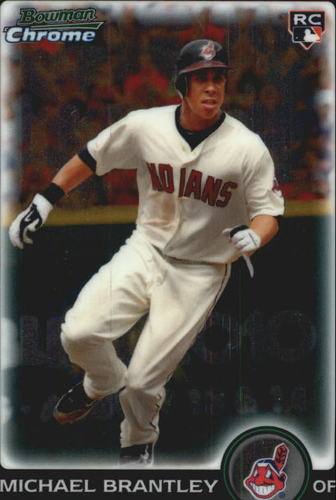 Photo of 2010 Bowman Chrome Draft #BDP90 Michael Brantley Rookie Card