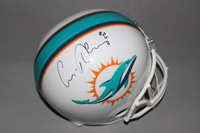 DOLPHINS - LOUIS DELMAS SIGNED DOLPHINS REPLICA HELMET