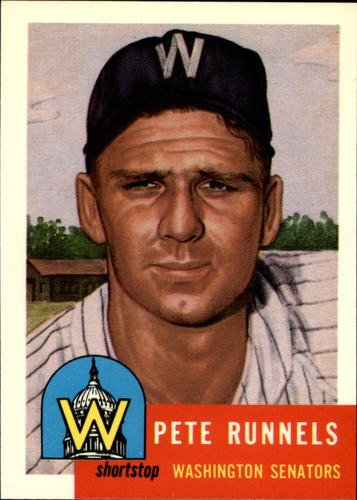 Photo of 1991 Topps Archives 1953 #219 Pete Runnels UER