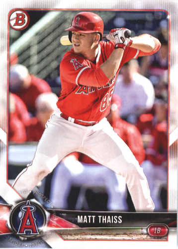 Photo of 2018 Bowman Prospects #BP61 Matt Thaiss
