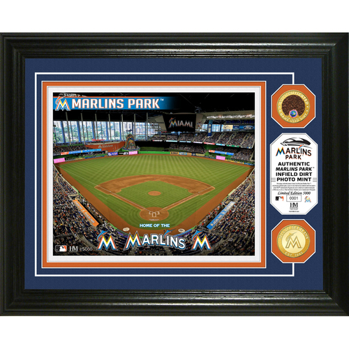 Photo of Miami Marlins Dirt Coin Photo Mint