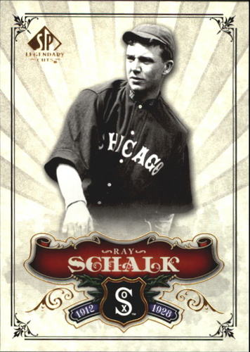Photo of 2006 SP Legendary Cuts #60 Ray Schalk -- Hall of Fame Class of 1955