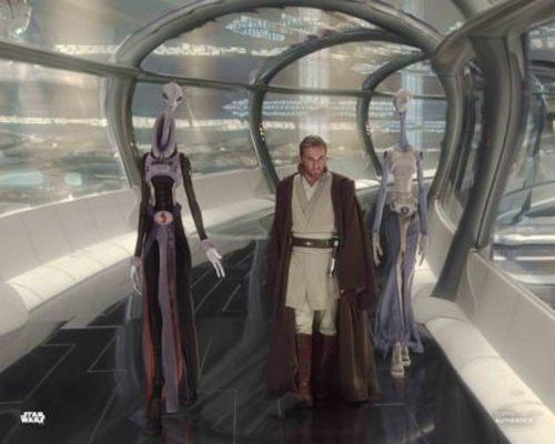 Obi-Wan Kenobi and Taun We