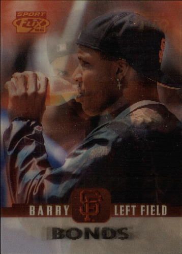 Photo of 1996 Sportflix #5 Barry Bonds