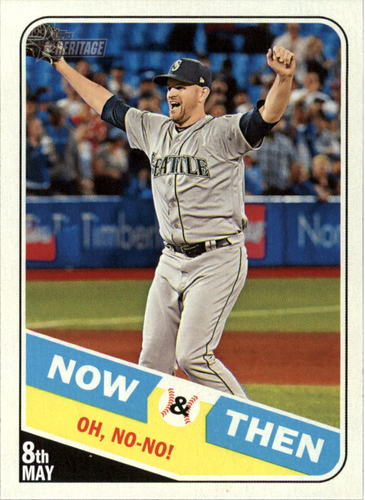 Photo of 2018 Topps Heritage Now and Then #NT5 James Paxton