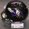 NFL - Ravens Eric Weddle signed Ravens proline helmet