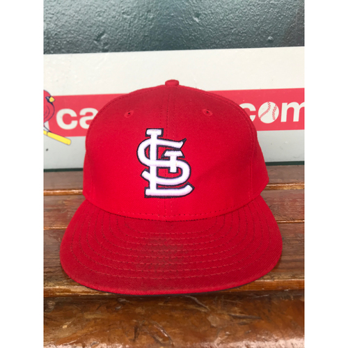 Photo of Cardinals Authentics: Game Worn Trevor Rosenthal Home Red Cap