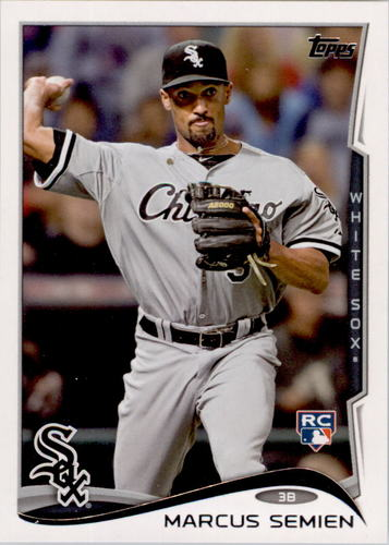Photo of 2014 Topps #429 Marcus Semien RC
