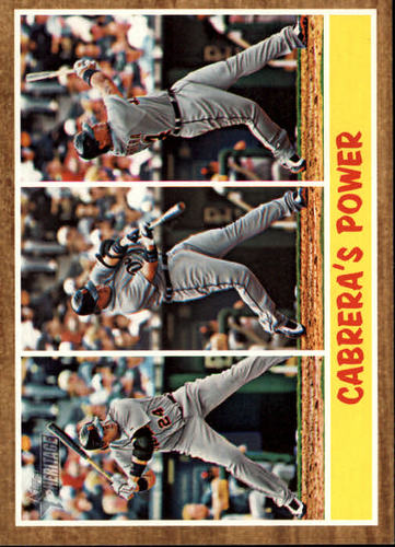 Photo of 2011 Topps Heritage #314 Miguel Cabrera IA