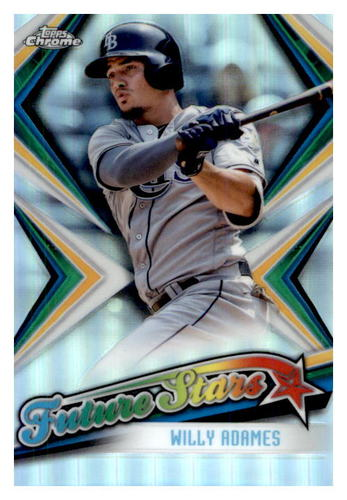 Photo of 2019 Topps Chrome Future Stars #FS2 Willy Adames