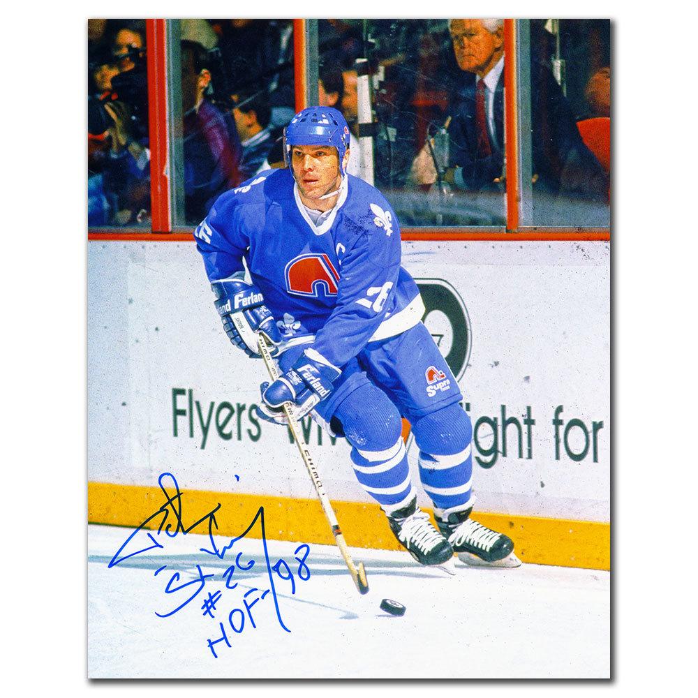 Peter Stastny Quebec Nordiques HOF Autographed 8x10
