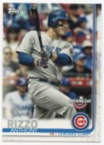 Photo of 2019 Topps Opening Day #86 Anthony Rizzo