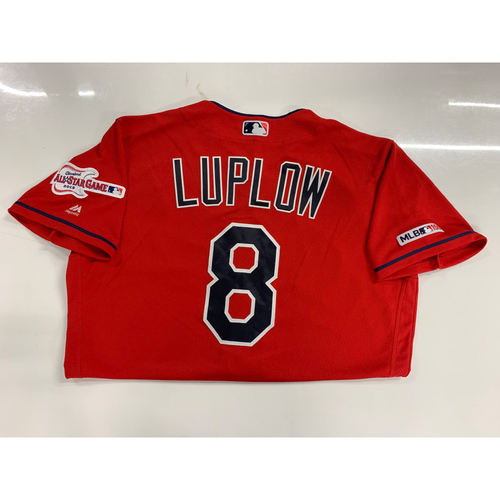 Photo of Jordan Luplow Game Used Alternate Home Jersey - 9/15/2019