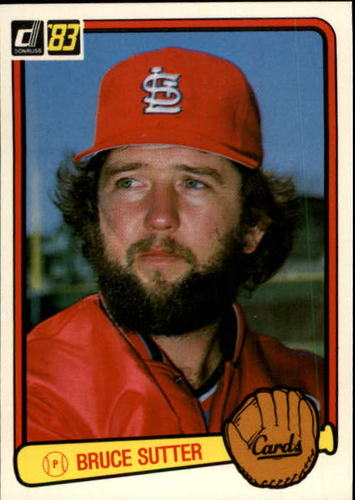 Photo of 1983 Donruss #40 Bruce Sutter