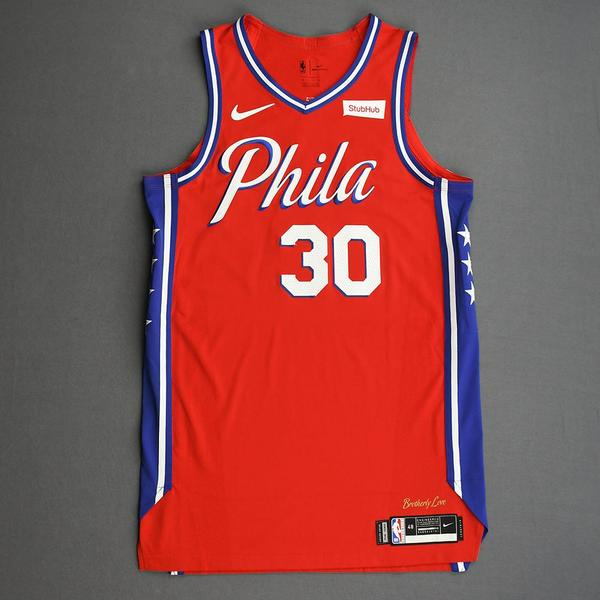 Image of Furkan Korkmaz - Philadelphia 76ers - Game-Issued Statement Edition Jersey - 2019-20 Season