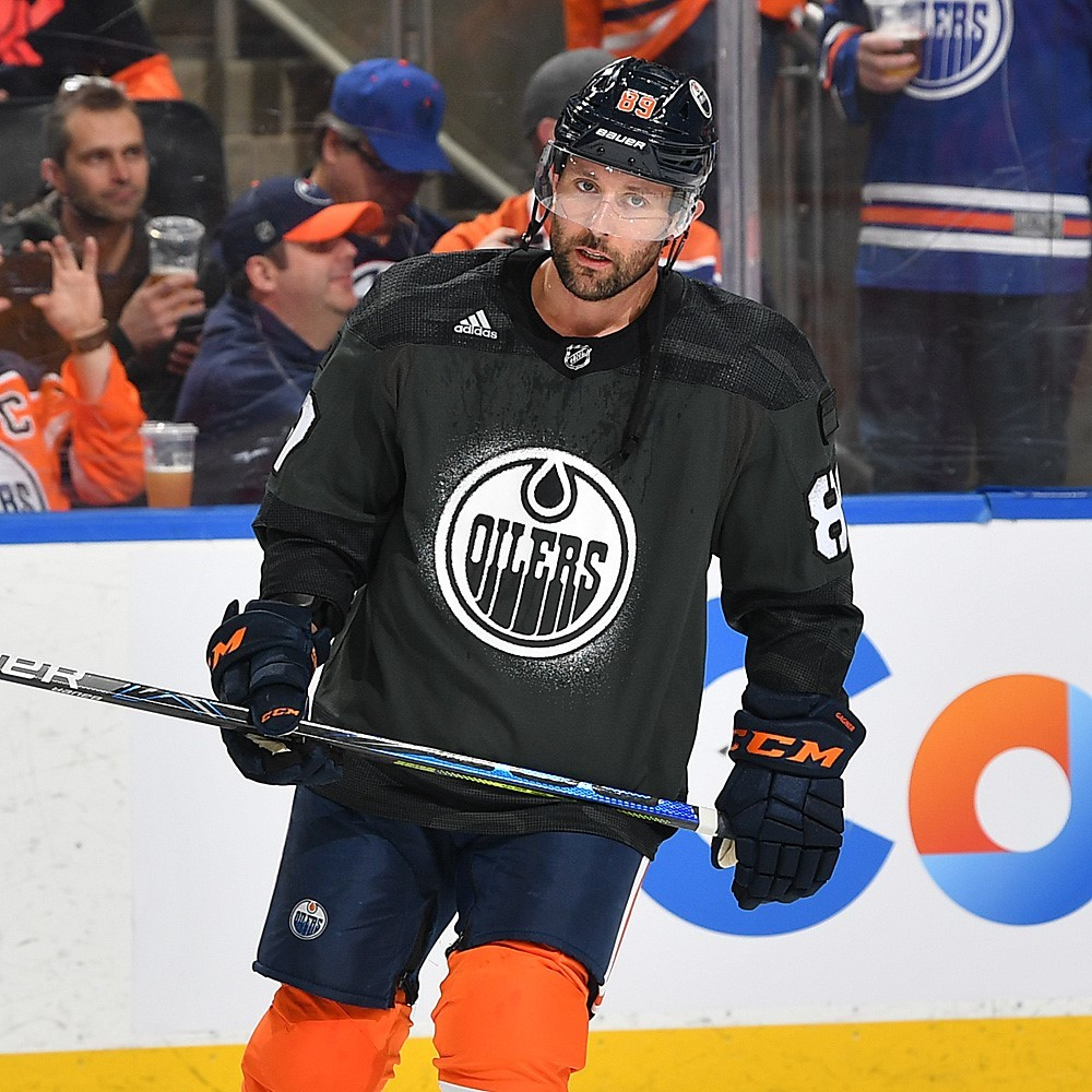 Sam Gagner #89 - Autographed 2019-20 Edmonton Oilers Pre-game Warm Up Worn Canadian Armed Forces Camouflage Jersey