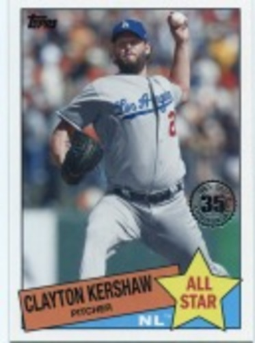 Photo of 2020 Topps '85 Topps All Stars #85AS49 Clayton Kershaw