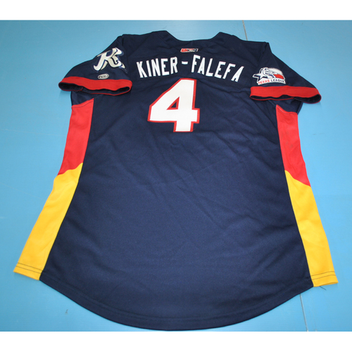 Photo of Game-Used Jersey - 2016 Texas League All-Star Game - Isiah Kiner-Falefa