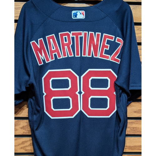 Mani Martinez #88 Team Issued Navy Road Alternate Jersey