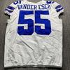 STS - Cowboys Leighton Van der Esch Game Used Jersey (11/22/20) Size 46