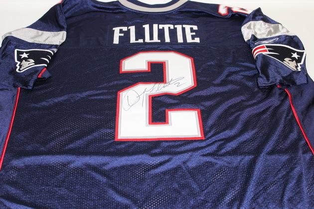 NFL Auction   PATRIOTS - DOUG FLUTIE SIGNED PATRIOTS AUTHENTIC ...