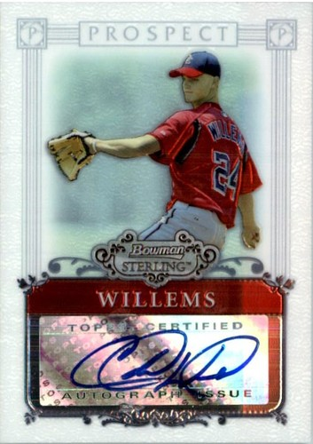 Photo of 2006 Bowman Sterling Prospects #CW Colton Willems AU B