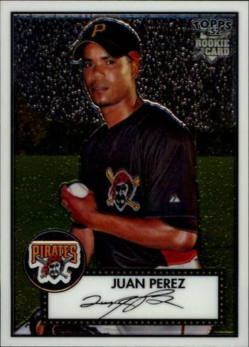 Photo of 2007 Topps 52 Chrome #73 Juan Perez